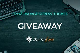 Giveaway: Win Three Premium WordPress Themes From ThemeFuse