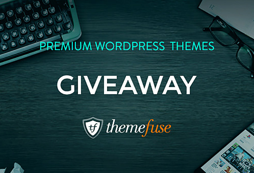 Giveaway: Win Three Premium WordPress Themes From ThemeFuse
