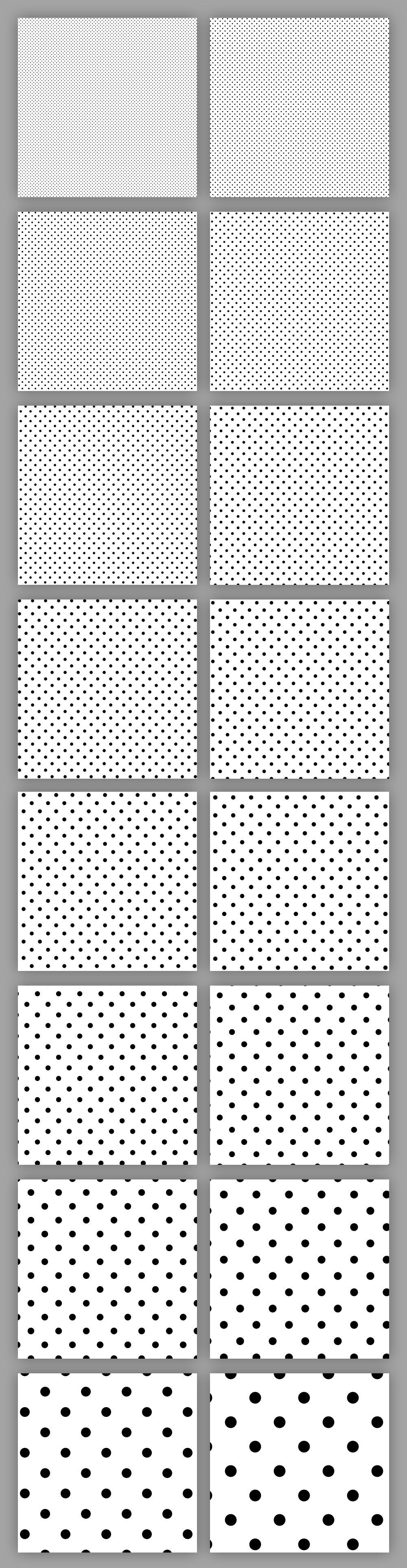 halftone-patterns