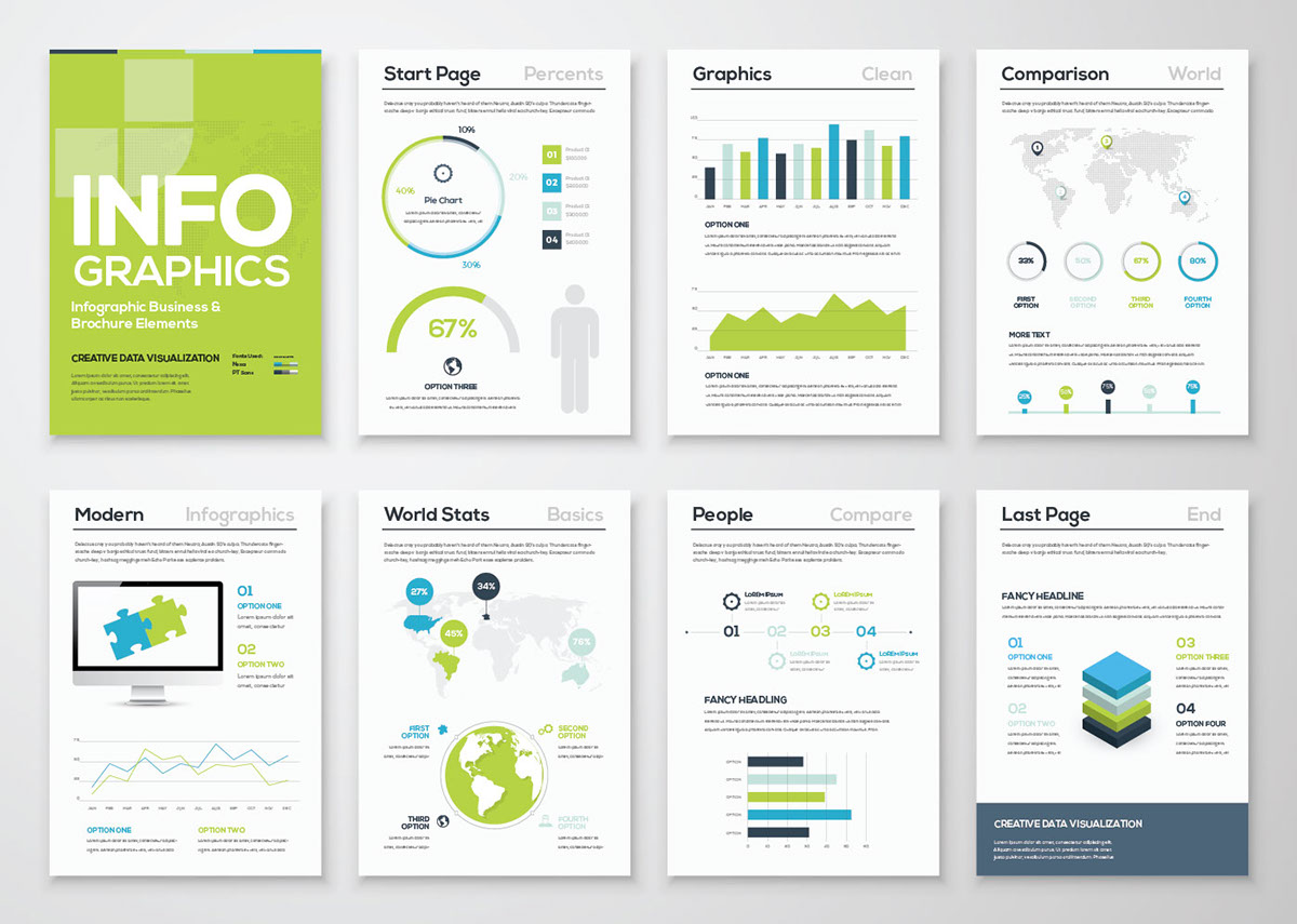 Free Infographic Brochure Template Graphicsfuel
