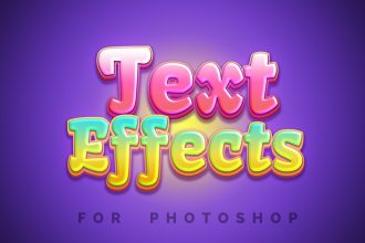 Beautiful Photoshop Text Effects