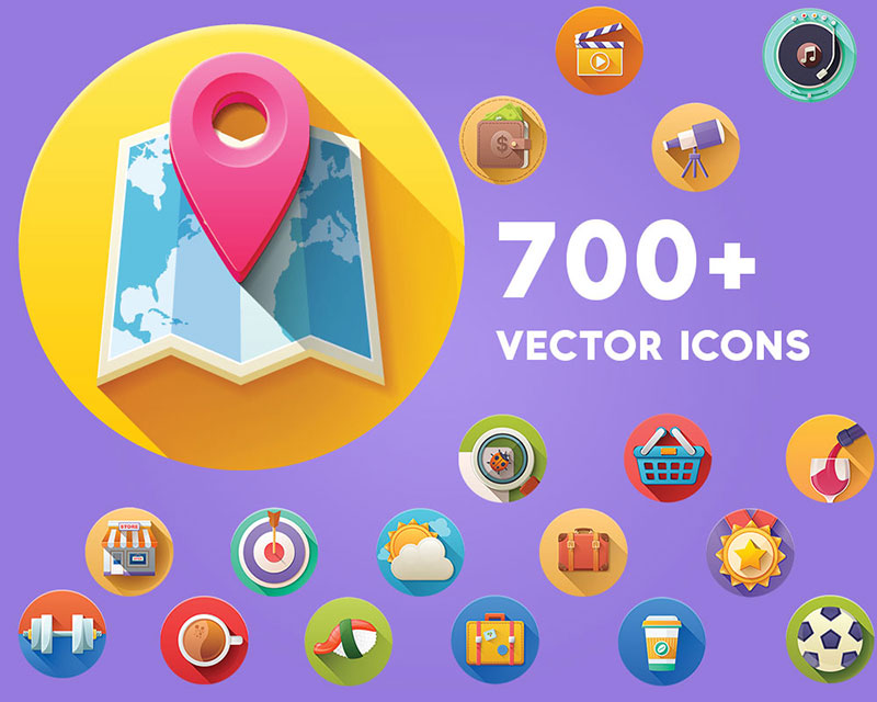 700+ Vector Icons Pack