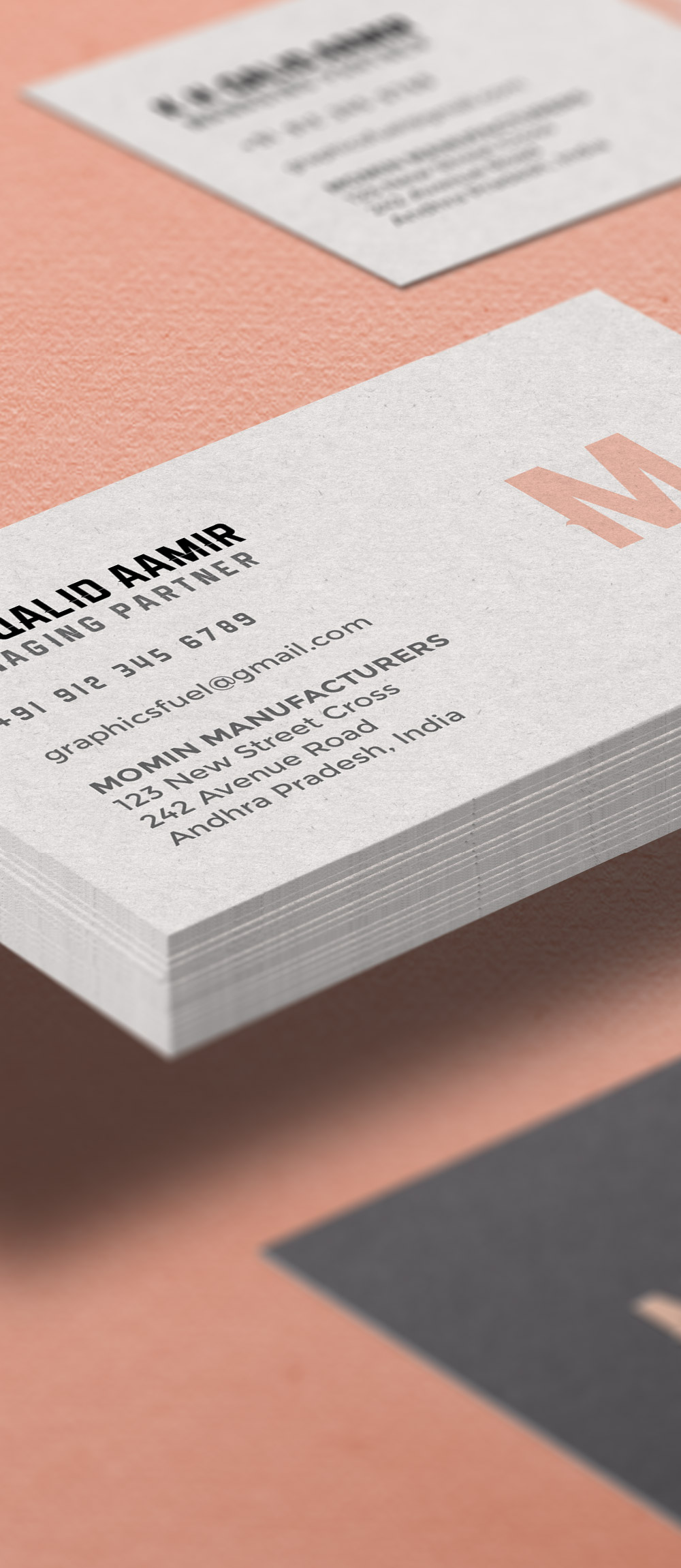 Business Card Mockup PSDD
