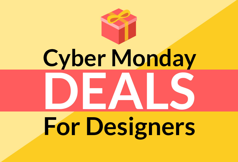 Don't miss these Cyber Monday Deals for Designers