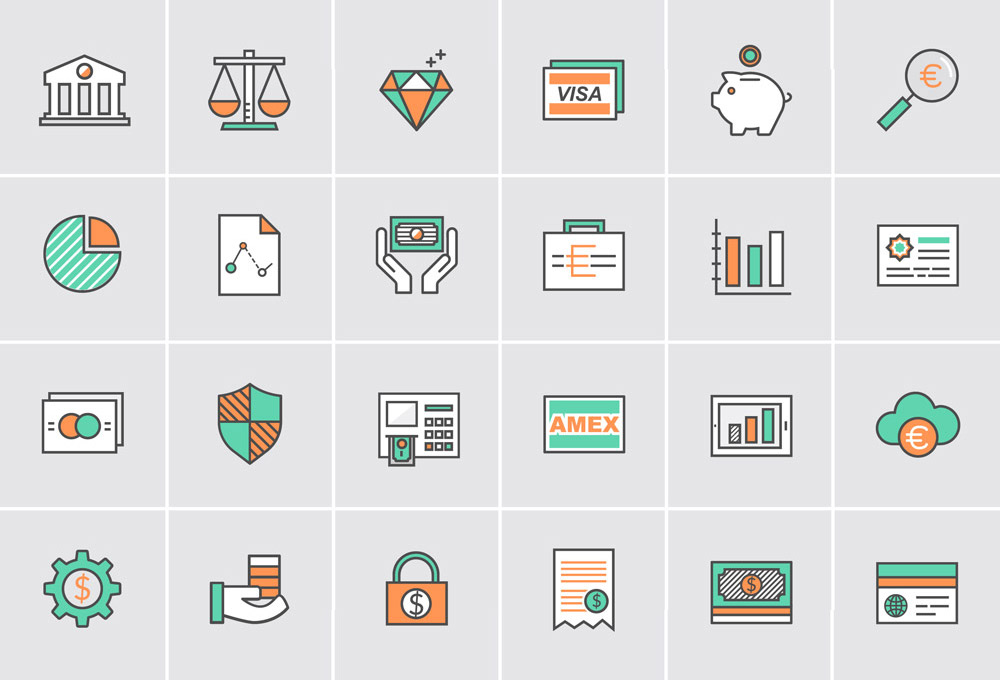 Banking & Money Icons