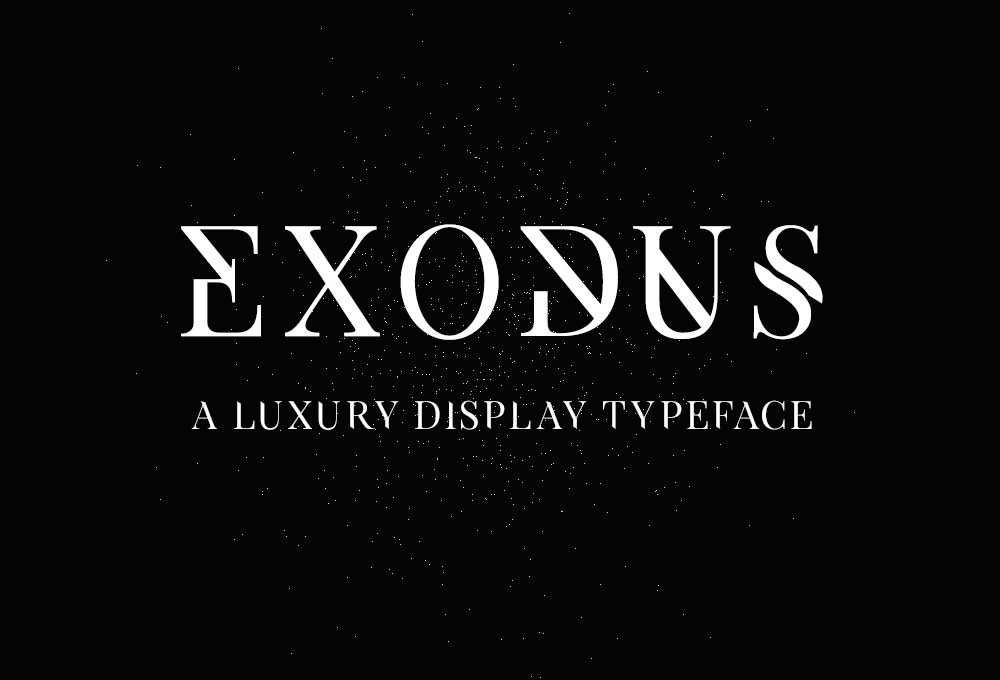 Exodus Font Download