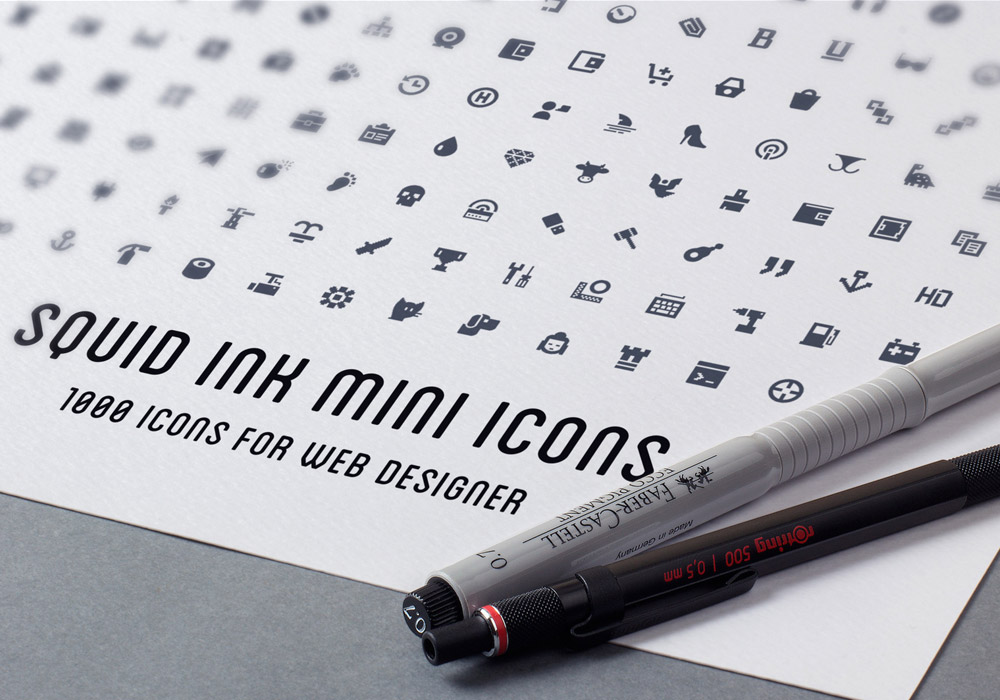 1000 Free Mini Icons Pack