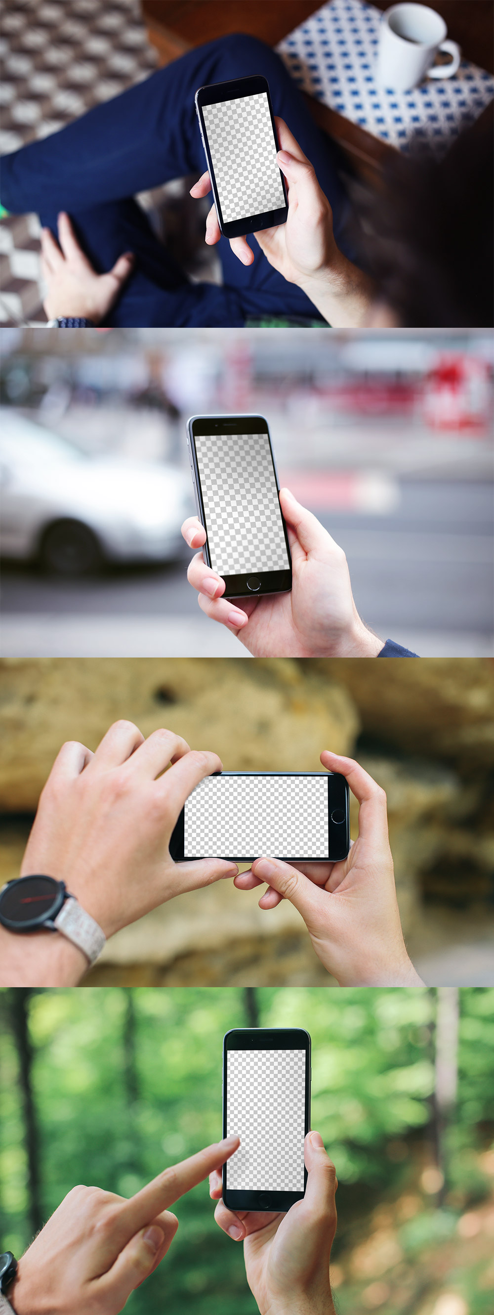 iPhone 6 Mockup PSD Templates