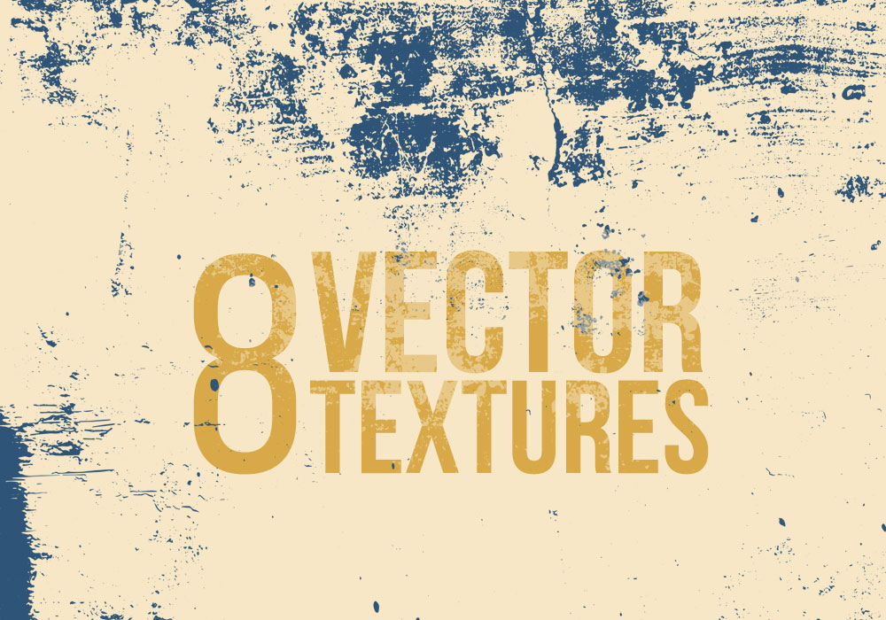 8 Vector Grunge Textures