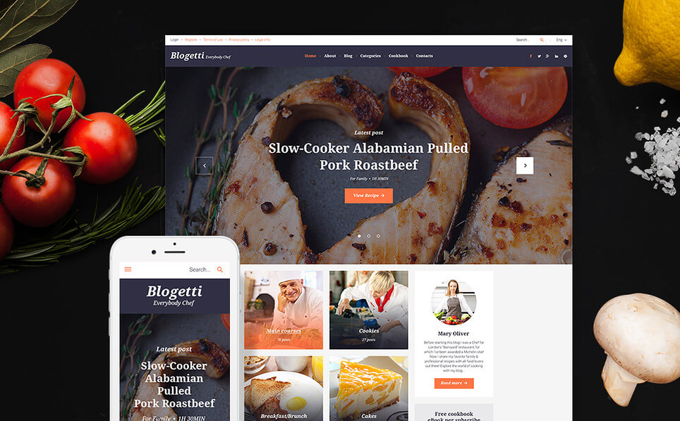 Blogetti WordPress Theme