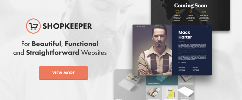 Shopkeeper WP Theme