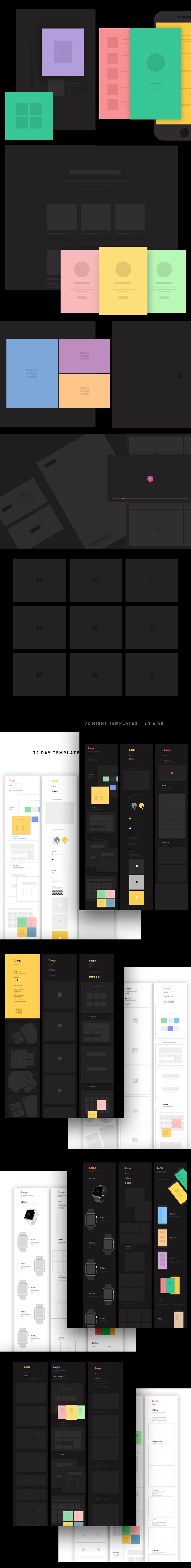 140 Mockup Layouts to Present Your Work