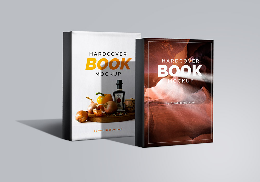 Hardcover Book Mockup PSD