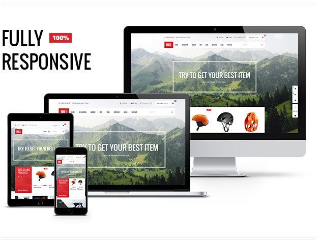 HILL: Win 3 Copies of Premium Responsive WooCommerce Theme