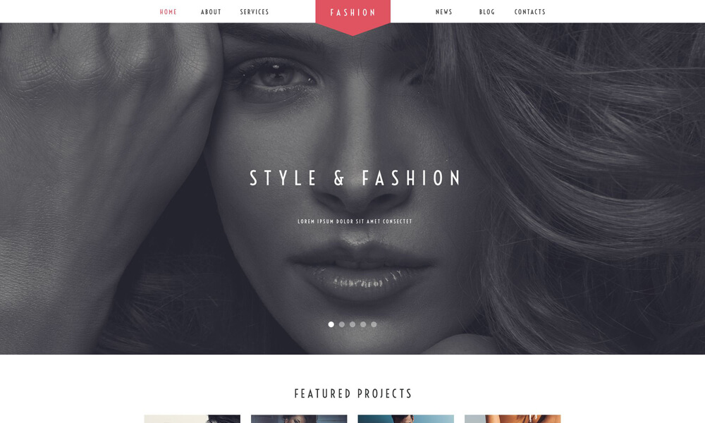 Fashion PSD Template