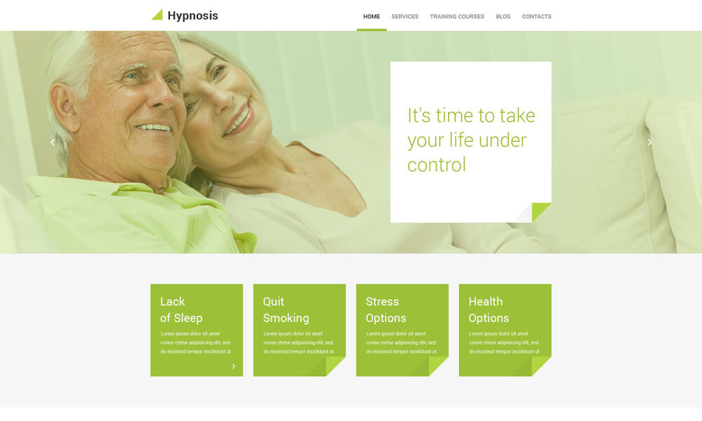 Hypnosis PSD Template