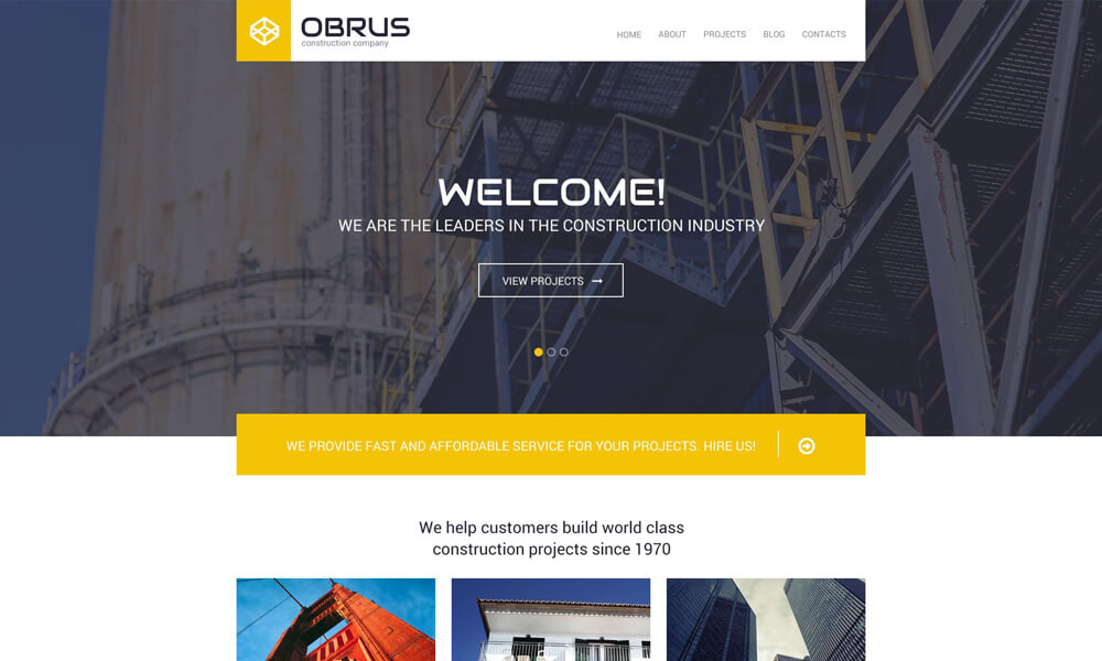 Obrus PSD Template