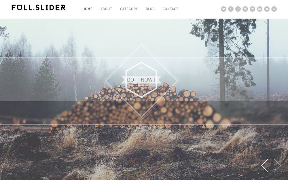 Full Slider WordPress Theme
