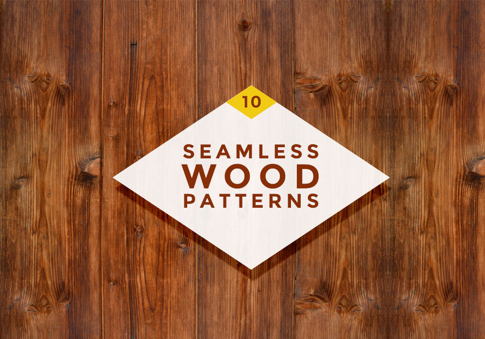 10 Seamless Wood Patterns