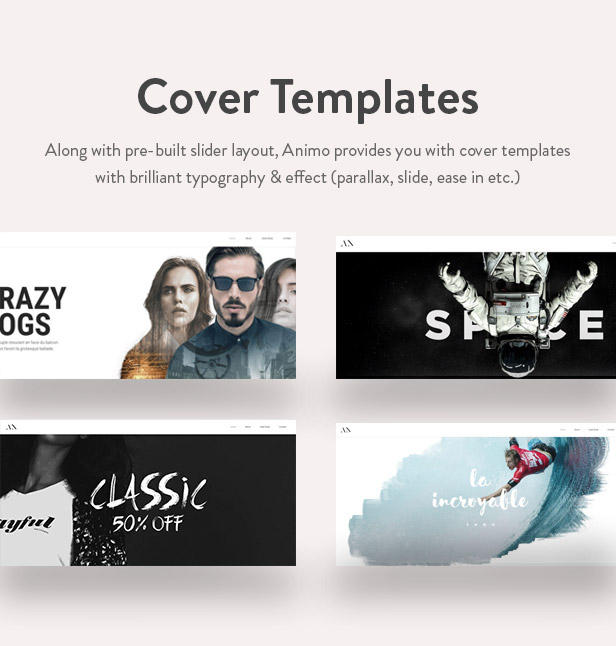 Animo Cover Templates