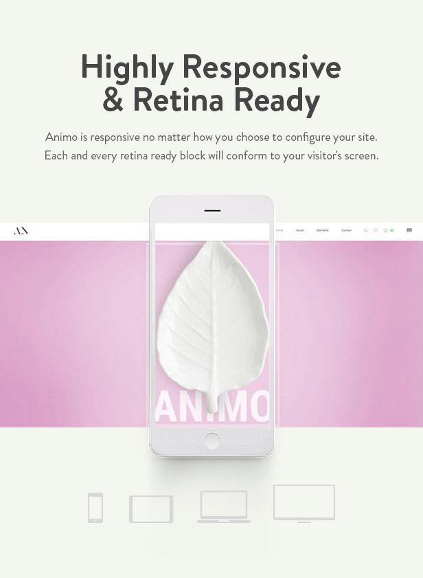 Animo Responsive Retina Ready