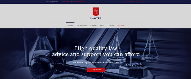 Be Lawyer WP Theme