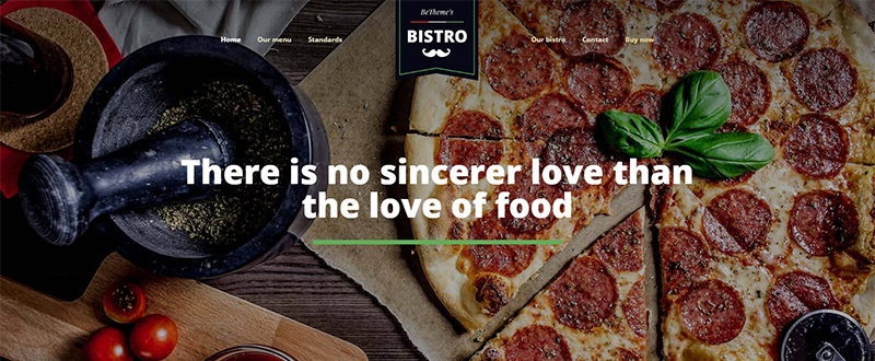 Be Bistro WP Theme