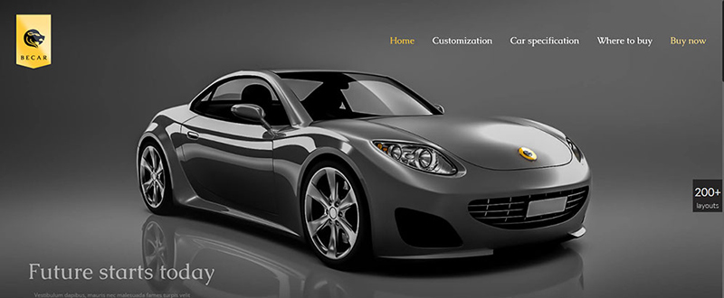 Be Car WP Theme