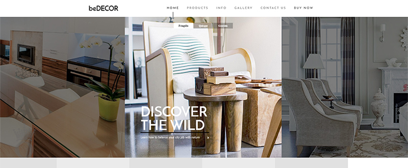 Be Decor WP Theme