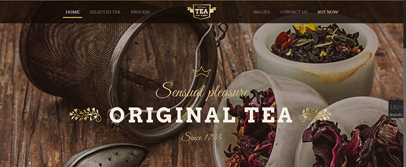 Be Tea WP Theme