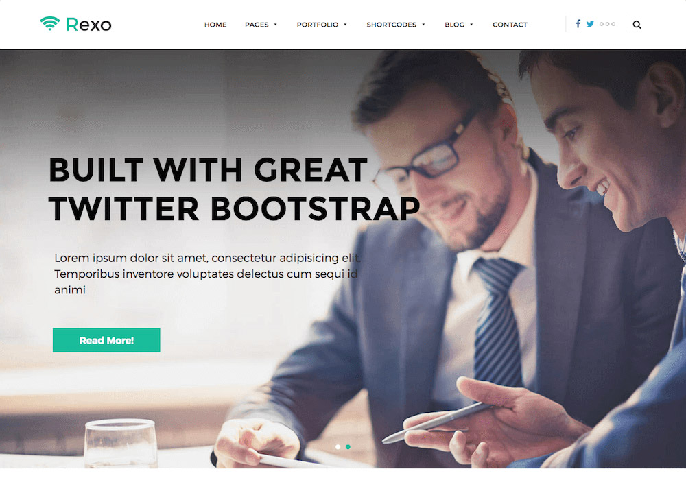 Rexo WordPress Theme