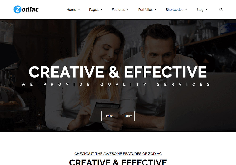 Zodiac WordPress Theme