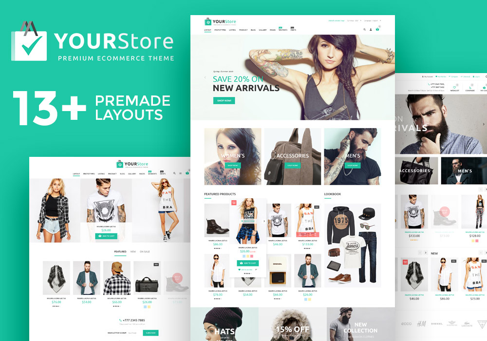 Giveaway: Win 3 Copies Of YourStore – Woocommerce theme