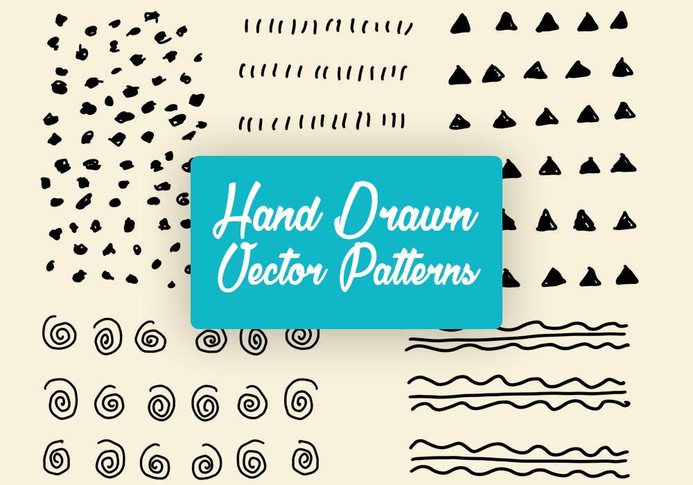 Free Handdrawn Vector Pattern