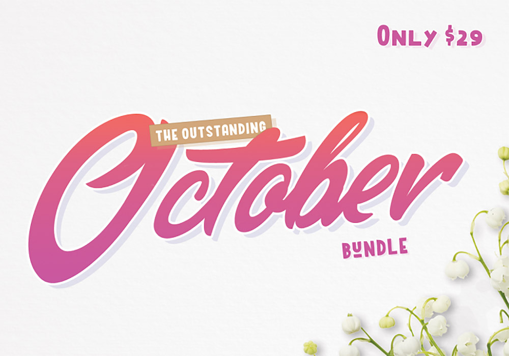 The Outstanding October Bundle