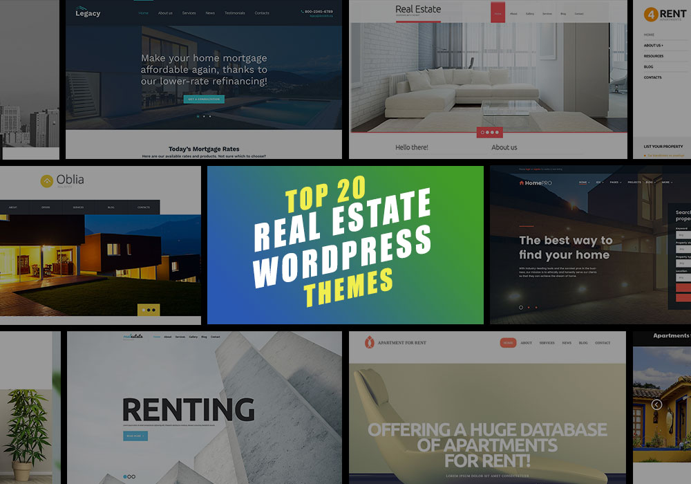 Top 20 WordPress Real Estate Themes