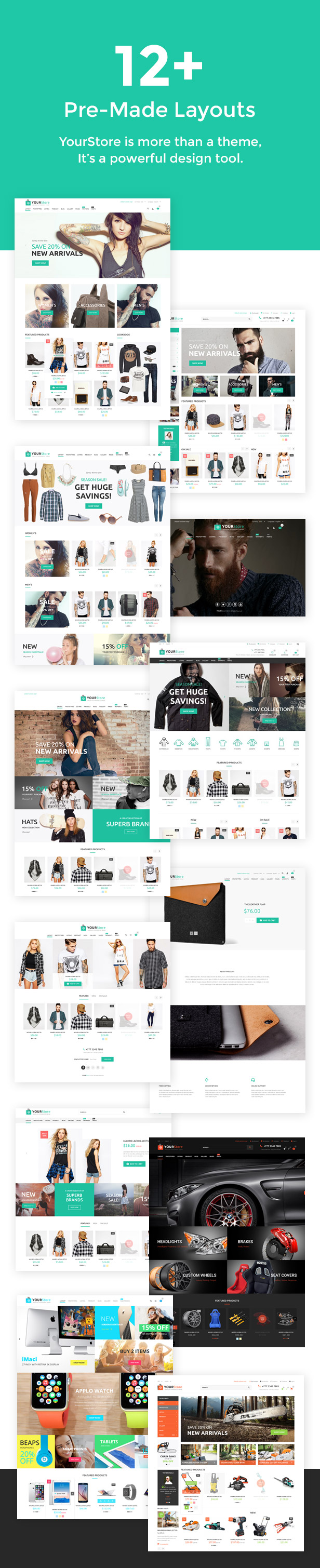 Giveaway: Win 3 Copies Of YourStore ?? Woocommerce Theme