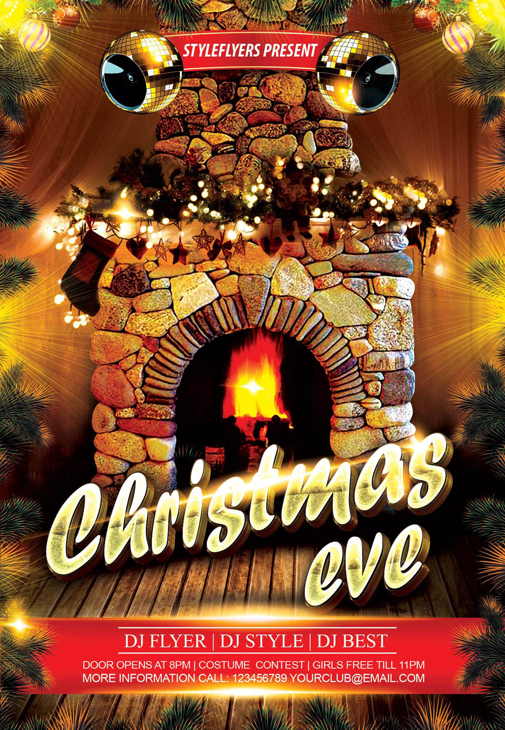 Christmas Eve Flyer
