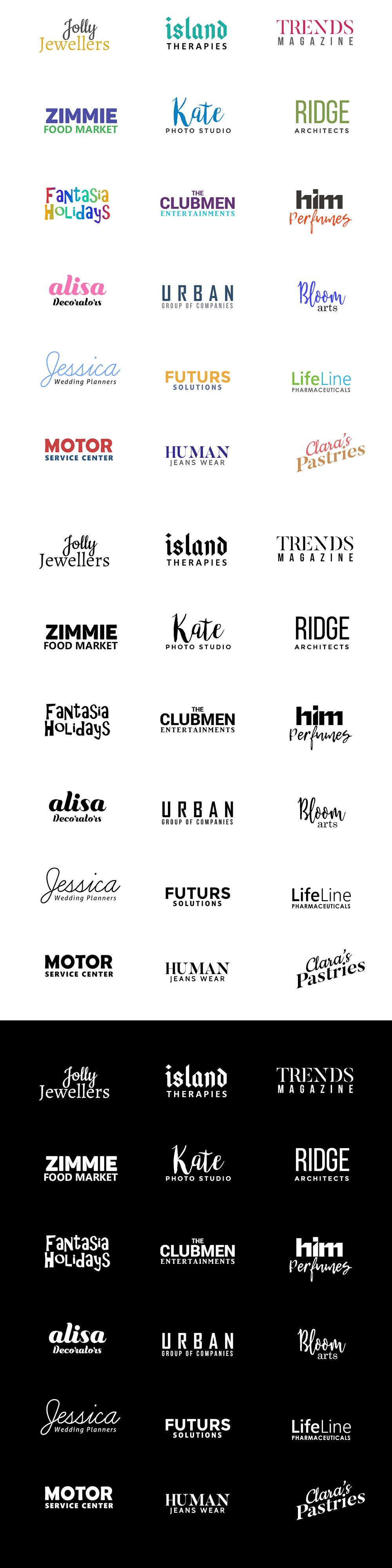 Free Minimal Logo Designs