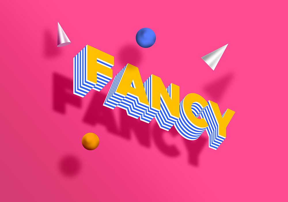 Fancy Text Effect PSD