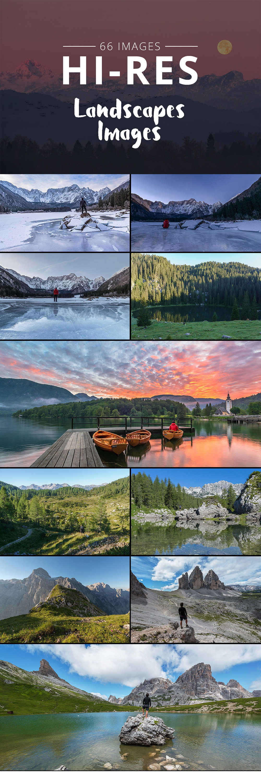 Photos Bundle Landscapes