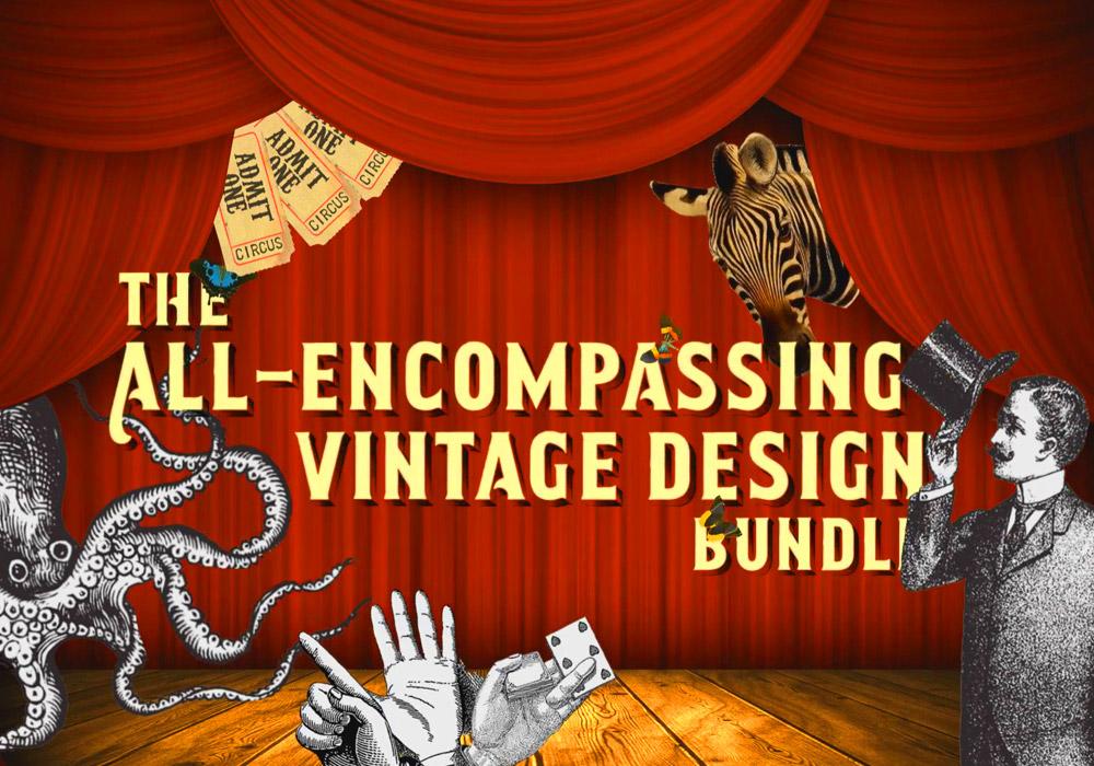 The All-Encompassing Vintage Design Bundle