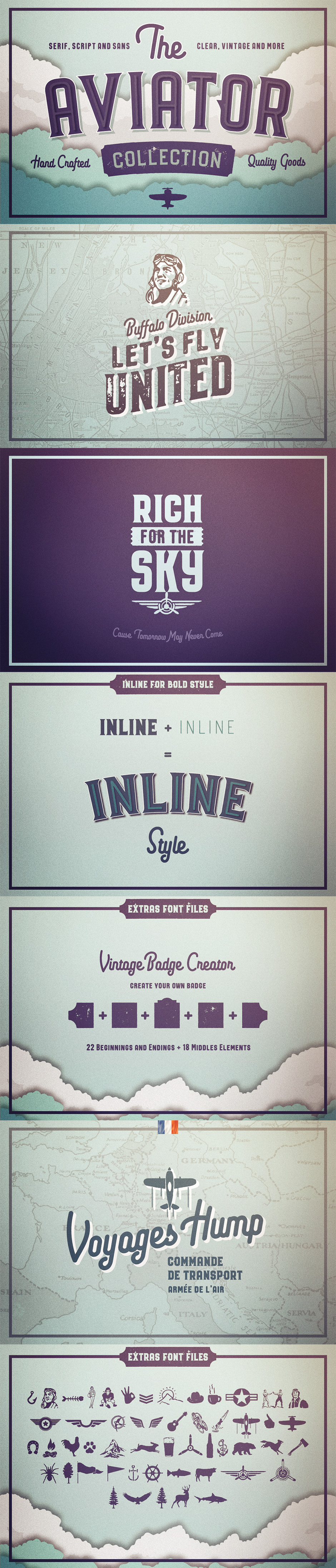 Definitive Fonts Bundle Aviator