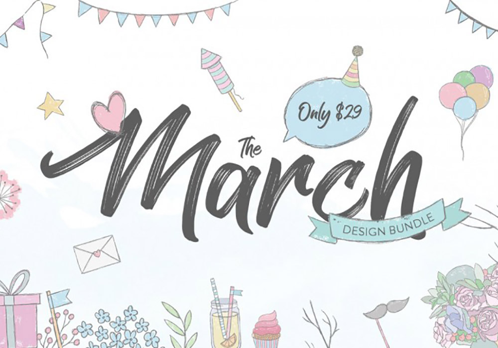 March Design Bundle