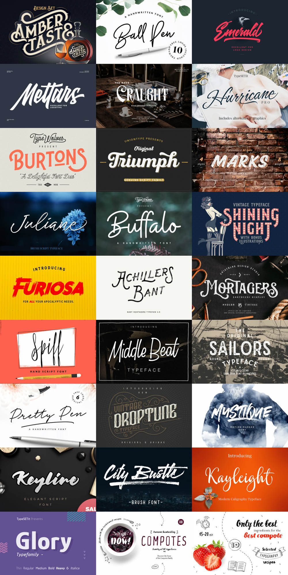 Fontabulous Fonts Bundle