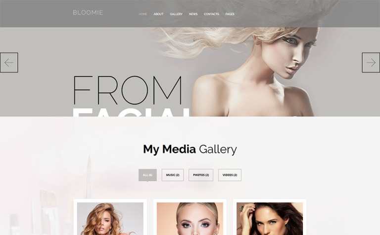 Skin Care Beauty Services WP Theme