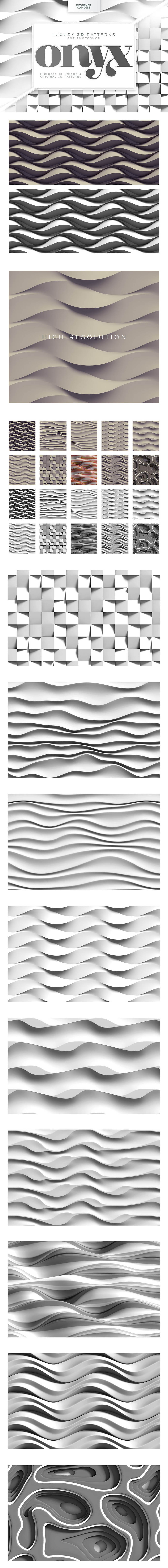 Textures & Patterns Collection