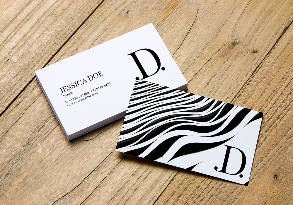 Free Business Card Mockup PSDs
