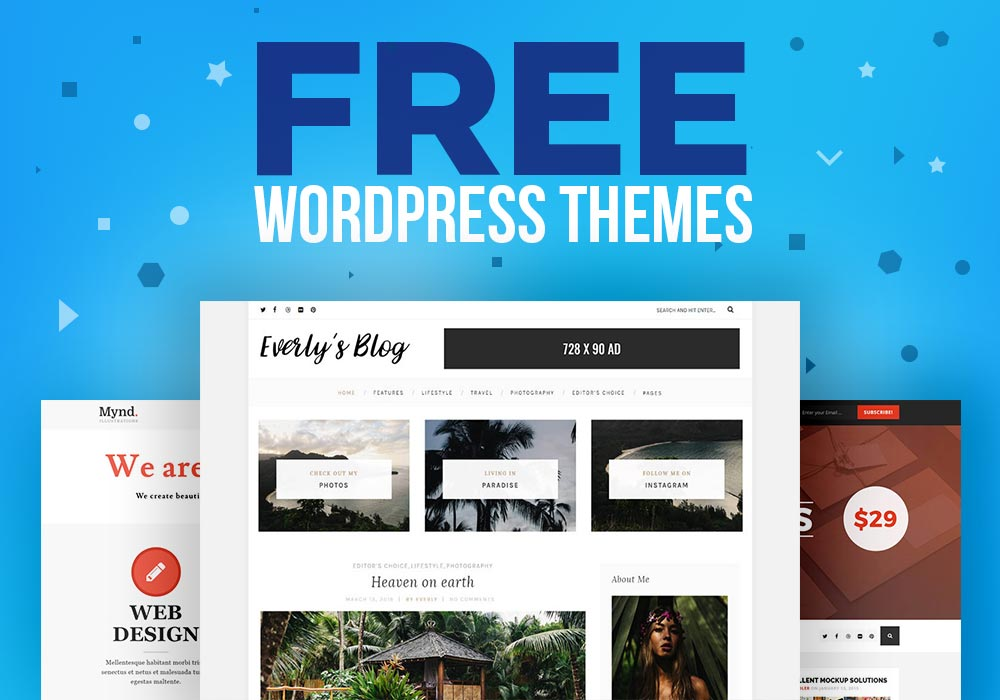 Free WordPress Themes from PremiumCoding - GraphicsFuel - 웹