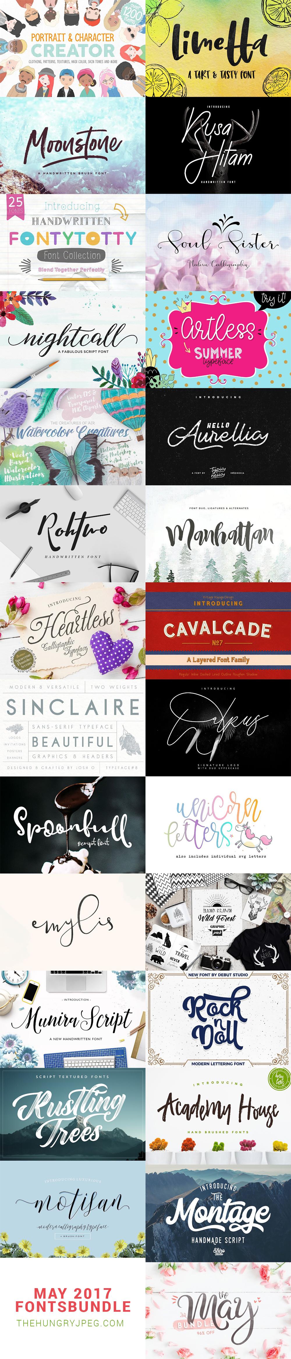 May Fonts Bundle